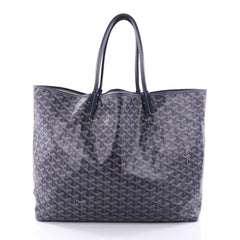 Goyard St. Louis Tote Coated Canvas GM Blue 2693201