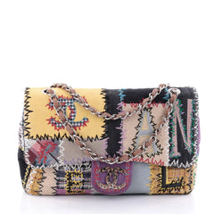 Chanel Classic Single Flap Bag Multicolor Patchwork 2696204