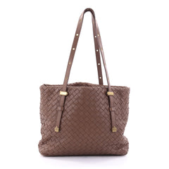 Bottega Veneta Belted Tote Intrecciato Nappa Medium 2696502