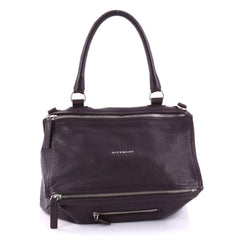 Givenchy Pandora Bag Distressed Leather Medium Purple 2698501