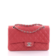 Chanel Classic Single Flap Bag Quilted Perforated 2702401