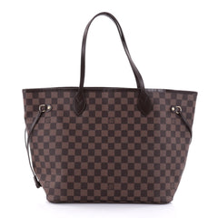 Louis Vuitton Neverfull Tote Damier MM Brown 2704604