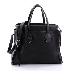 Gucci Ramble Layered Tote Studded Leather Medium Black 2706002