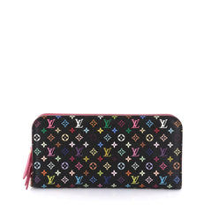 Louis Vuitton Insolite Wallet Monogram Multicolor Black 2709401