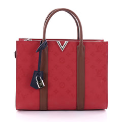 Louis Vuitton Very Tote Monogram Leather MM Red 2711401