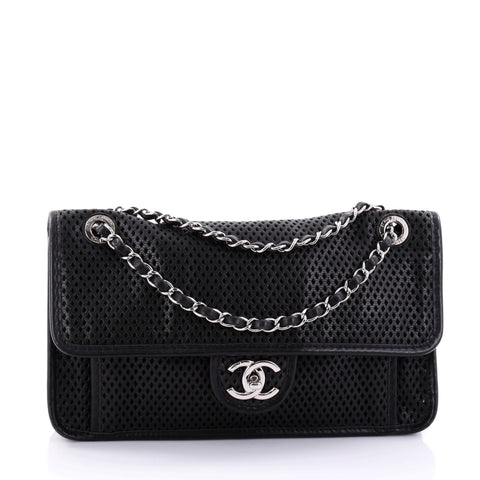 a2736ee45581 Buy Chanel Up In The Air Flap Bag Perforated Leather Medium 2715501 – Rebag