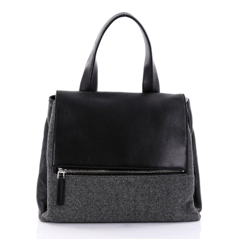6cdaf78f26 Buy Givenchy Pandora Pure Satchel Wool with Leather Medium 2716802 – Rebag