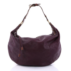 Louis Vuitton Onatah Hobo Mahina Leather GM Purple 2723901