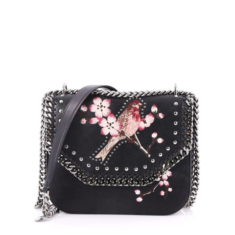 964ecae2cc1 Buy Stella McCartney Falabella Box Shoulder Bag Embroidered 2728301 – Rebag