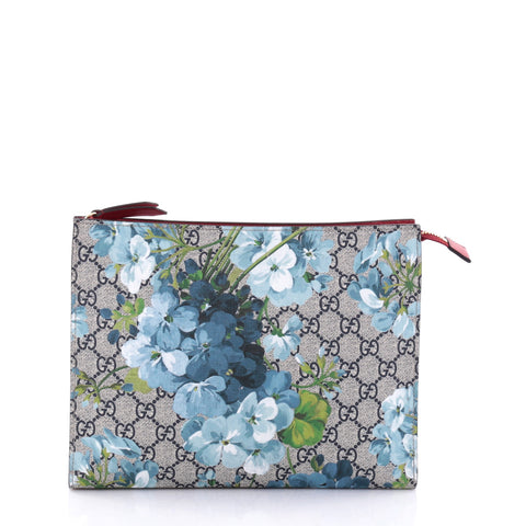 bf7bb87c92e Buy Gucci Toiletry Pouch Blooms Print GG Coated Canvas Large 2732201 – Rebag