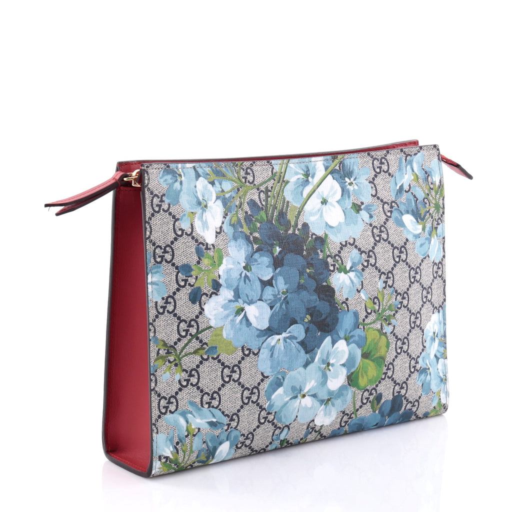 465b8c71d9d Buy Gucci Toiletry Pouch Blooms Print GG Coated Canvas Large 2732201 ...