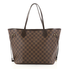 Louis Vuitton Neverfull Tote Damier MM Brown 2736106