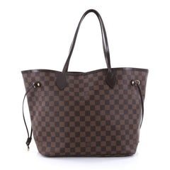 Louis Vuitton Neverfull Tote Damier MM Brown 2746302