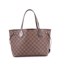 Louis Vuitton Neverfull Tote Damier PM Brown 2754701