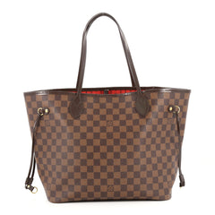 Louis Vuitton Neverfull Tote Damier MM Brown 2755503