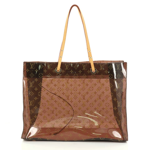 4fce0588a649 Buy Louis Vuitton Ambre Sac Cabas Monogram Vinyl GM Brown 2762201 – Rebag