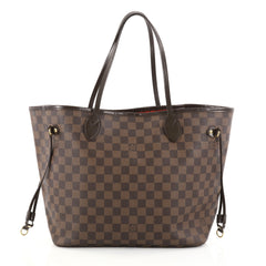 Louis Vuitton Neverfull Tote Damier MM Brown 2763004