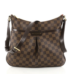Louis Vuitton Bloomsbury Handbag Damier PM Brown 2766101