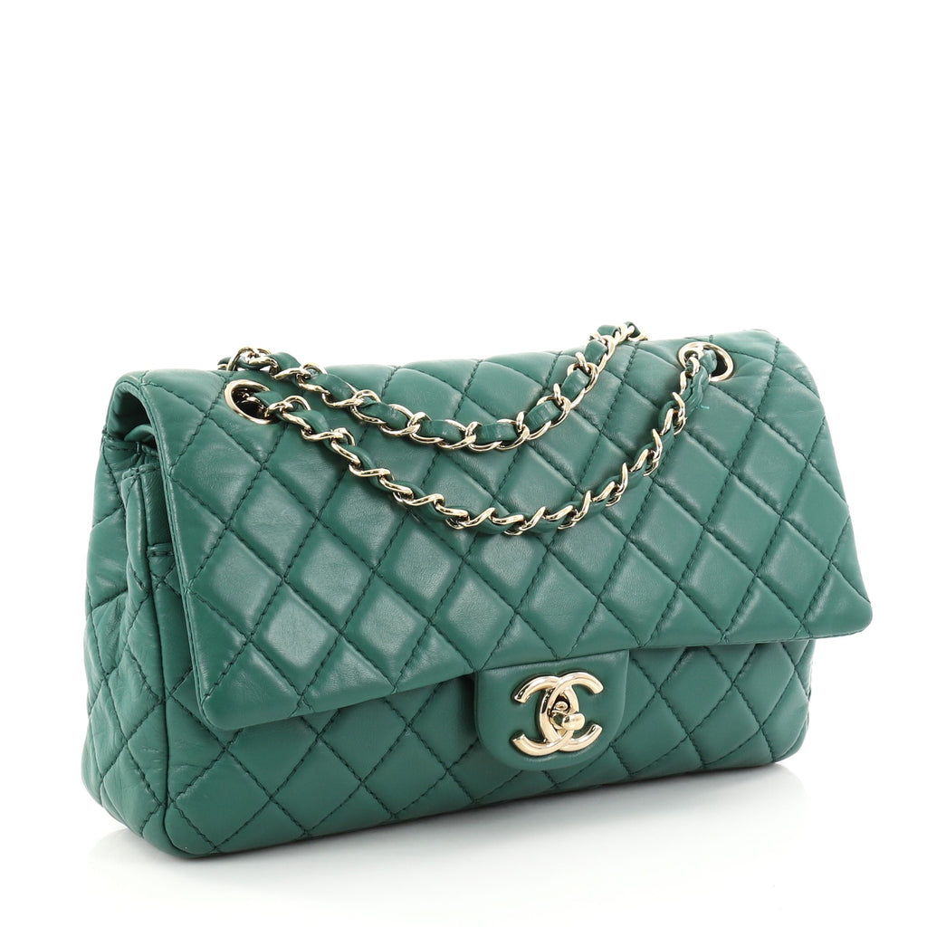 b2dc7c21ebd2 Buy Chanel Vintage Classic Double Flap Bag Quilted Lambskin 2769004 ...