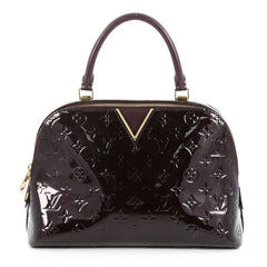 Louis Vuitton Melrose Handbag Monogram Vernis Purple 2769408