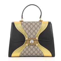 Gucci Osiride Top Handle Bag GG Canvas and Leather 2770901