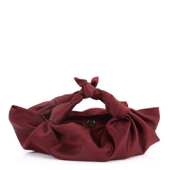 The Row Ascot Bag Satin Small Red 2772704