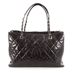 Chanel Grand Shopping Tote Quilted Patent Red 2773401