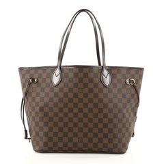 Louis Vuitton Neverfull Tote Damier MM Brown 2773502
