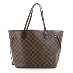 Louis Vuitton Neverfull Tote Damier MM Brown 2773504