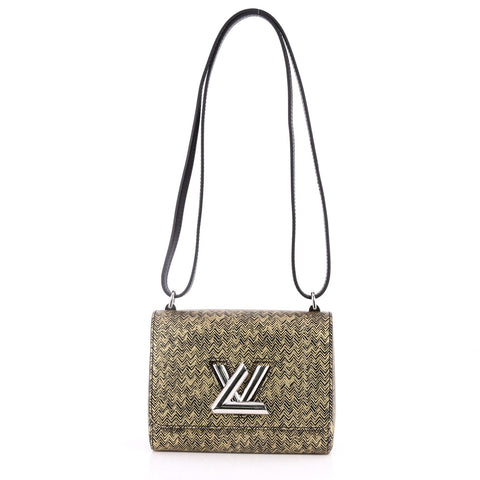 cf0489110577 Buy Louis Vuitton Twist Handbag Limited Edition Embossed 2777701 – Rebag