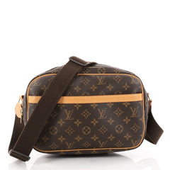 Louis Vuitton Reporter Bag Monogram Canvas PM Brown 2778705