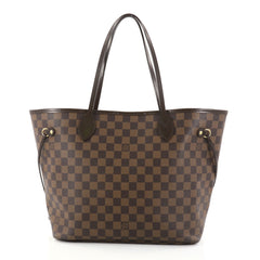 Louis Vuitton Neverfull Tote Damier MM Brown 2783202