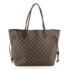 Louis Vuitton Neverfull Tote Damier MM Brown 2784303