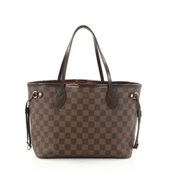 Louis Vuitton Neverfull Tote Damier PM Brown 2786302