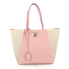 Louis Vuitton Lockme Cabas Perforated Leather Pink 2792701