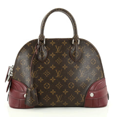 Louis Vuitton Alma Handbag Monogram Shine Canvas PM 2794903
