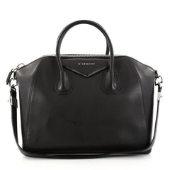 Givenchy Antigona Bag Leather Medium Black 2804801
