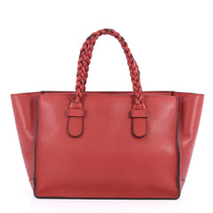 Valentino To Be Cool Tote Leather Small Red 2807104