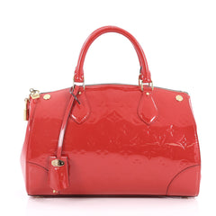 Louis Vuitton Santa Monica Handbag Monogram Vernis Red 2808203