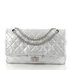 Chanel Reissue Flap Bag Metallic Quilted Aged Calfskin 2809503
