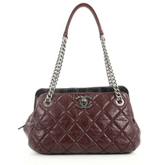 Chanel Portobello Bowler Bag Quilted Aged Calfskin and 2817304 3fc37bc72efde