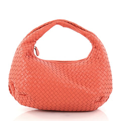 Bottega Veneta Belly Hobo Intrecciato Nappa Medium Pink 2821602