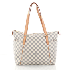 Louis Vuitton Totally Handbag Damier MM White 2827701