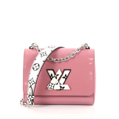 Louis Vuitton Twist Handbag Patent with Limited Edition 2829901