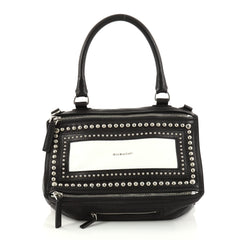 Givenchy Pandora Handbag Studded Leather Medium Black 2834103