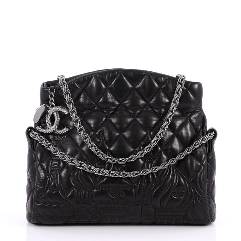8215707c908c Buy Chanel Paris-Moscow Square Flap Bag Embossed Quilted 2837904 – Rebag