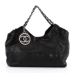 Chanel Baby Coco Cabas Quilted Leather Medium Black 2838602