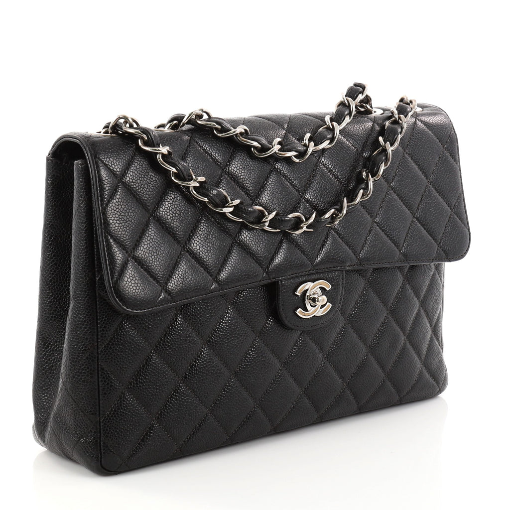 5a6948711f310f Buy Chanel Vintage Square Classic Single Flap Bag Quilted 2844501 ...