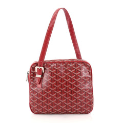 Goyard Yona Bag Coated Canvas MM Red 2844901
