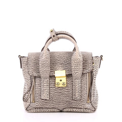3.1 Phillip Lim Pashli Satchel Leather Mini White 2856601